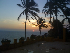 Sunset in Acupolco