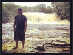 In front of Falls