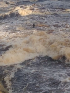Me in the rapids